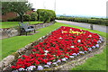 NS5026 : Flower Garden at Mauchline by Billy McCrorie