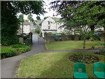 SK2375 : St Martin, Stoney Middleton: churchyard (B) by Basher Eyre