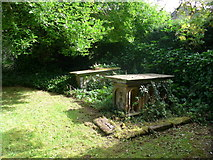 SK2375 : St Martin, Stoney Middleton: churchyard (E) by Basher Eyre