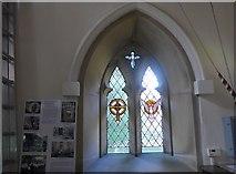 SK2375 : Inside St Martin, Stoney Middleton (i) by Basher Eyre