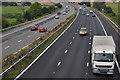SX9795 : East Devon : The M5 Motorway by Lewis Clarke