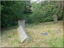 SK2572 : St Anne, Baslow: churchyard (iv) by Basher Eyre