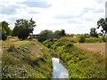 TF1506 : Footbridge across Brook Drain near Glinton by Paul Bryan