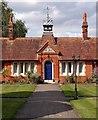 TL6720 : Felsted almshouses by Julian Osley