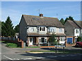 TL1338 : Houses on Ampthill Road, Shefford by JThomas