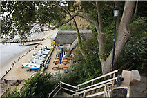SZ5881 : Fisherman's Cottage, Shanklin Chine by Ian S