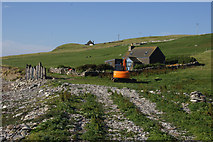 HP5605 : Holiday cottage at Ayre of Newgarth, Westing by Mike Pennington
