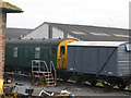 SE2889 : Trains in the siding at Leeming Bar station by Stephen Craven