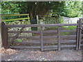 SD4575 : Commemorative gate, Cove Road, Silverdale by Karl and Ali