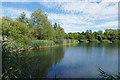 TQ0772 : Clockhouse Lake, Bedfont Lakes by Alan Hunt