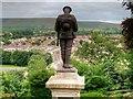 SD7441 : War Memorial on Castle Hill by David Dixon