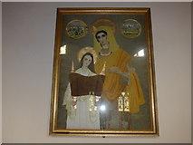 SK2572 : Inside St Anne, Baslow (V) by Basher Eyre
