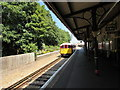 SZ5881 : Sunshine and shade, Shanklin railway station by Jaggery