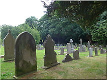 SK2566 : St Katherine, Rowsley: churchyard (i) by Basher Eyre