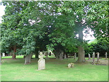 SK2566 : St Katherine, Rowsley: churchyard (iii) by Basher Eyre