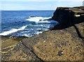 ND3479 : Coastal View Near Langaton Point by Rude Health