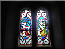 SK2566 : St Katherine, Rowsley: stained glass window (D) by Basher Eyre