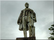 SJ3787 : Statue to William Rathbone V, Sefton Park by David Dixon