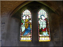 SK2071 : St Giles, Great Longstone: stained glass window (2) by Basher Eyre