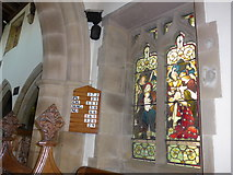 SK2071 : Inside St Giles, Great Longstone  (I) by Basher Eyre