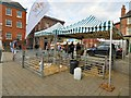 SJ8990 : Farm Experience on Stockport Market by Gerald England