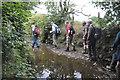 SX5381 : West Devon : Muddy Footpath by Lewis Clarke