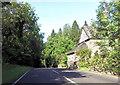 SH7619 : House by A494 by John Firth