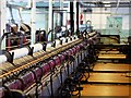 SD7721 : The Spinning Floor, Helmshore Mills Textiles Museum by David Dixon