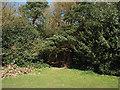 SP1096 : A half-hidden opening into Holly Hurst, Sutton Park by Robin Stott