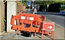 J3674 : EWAY works, Upper Newtownards Road, Belfast - August 2015(4) by Albert Bridge