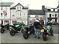 D1241 : Bikers, Ballycastle by Kenneth  Allen