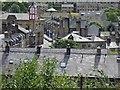 SE0411 : Marsden rooftops by Steve  Fareham