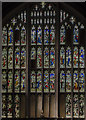 SK5739 : West window, St Mary's church, Nottingham by Julian P Guffogg