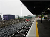 W7966 : Cobh railway station platform by Jonathan Thacker