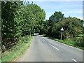 TL0636 : Minor road near Hollington Basin by JThomas