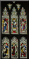 SK5739 : Stained glass window, St Mary's church, Nottingham by Julian P Guffogg