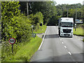 TF8723 : Mercedes Actros on the A1065 near to South Raynham by David Dixon
