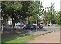 SK5637 : Wilford: tram-stop car park by John Sutton