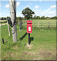 TM1864 : Kenton Hall Postbox by Adrian Cable