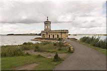 SK9306 : Normanton church by J.Hannan-Briggs
