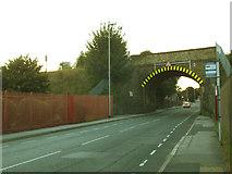 SE2334 : Swinnow Lane railway bridge by Stephen Craven