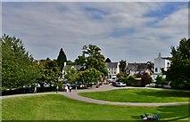 ST5394 : Chepstow Castle: The car park by Michael Garlick