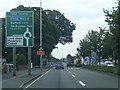 SJ9103 : A449 nears Vine Island by Colin Pyle
