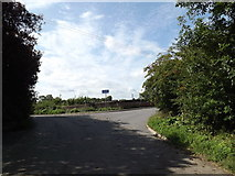 TM1763 : Kenton Road, Debenham by Adrian Cable