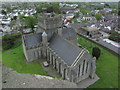N7212 : Kildare - St Brigid's Cathedral from Round Tower by Colin Park