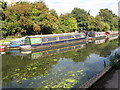 TQ1383 : Emma, narrowboat on Paddington Branch canal by David Hawgood
