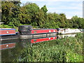 TQ1384 : T W W Montgomery of Barge Walk, narrowboat on Paddington Branch canal by David Hawgood