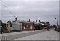 SP1955 : Stratford-upon-Avon railway station by Tim Glover