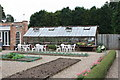 TA1746 : Wassand Hall - greenhouse in the walled kitchen garden by JThomas