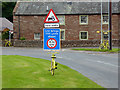 NY5633 : The yellow bikes of Langwathby (9) by Oliver Dixon